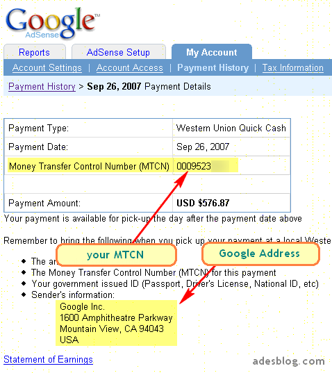 Life : Guide on how to get their adsense money through